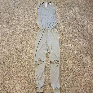 Jumpsuit (light sweats material)
